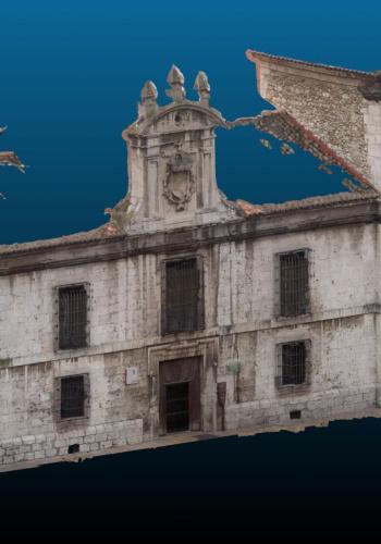 Obtención de la fachada de la antigua Carcel de Chancillería de Valladolid
